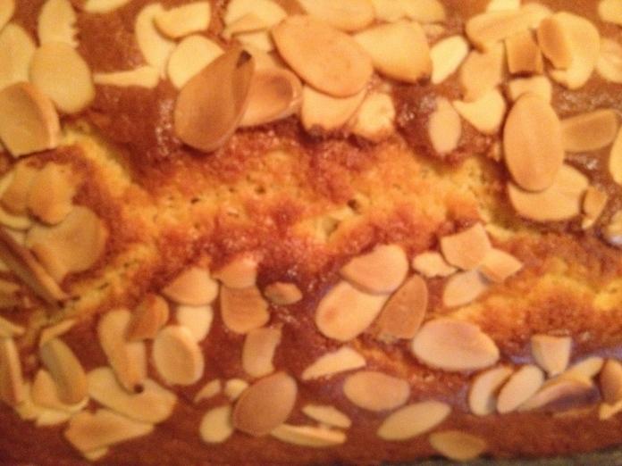 Almond Flake Loaf