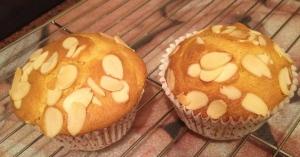 Almond Flake Muffins