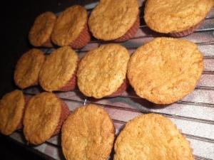 carrot cupcakes rack