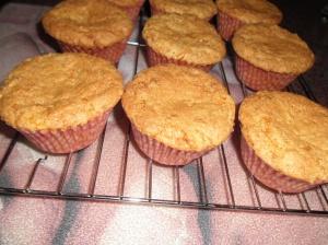 carrot cupcakes top
