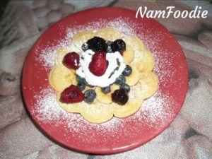 Namfoodie waffle