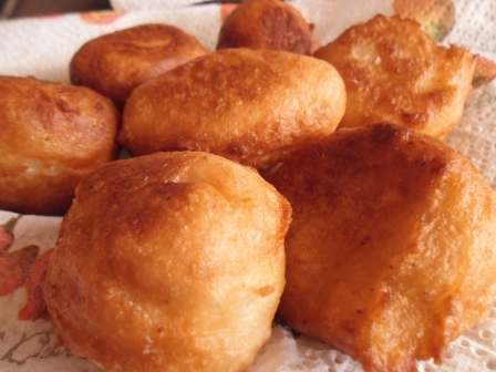 South African Fat Cakes Recipe