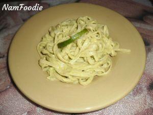 avocado pasta namfoodie
