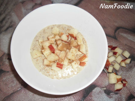 oats apple cinnamon