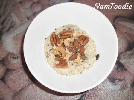 oats nuts and seeds