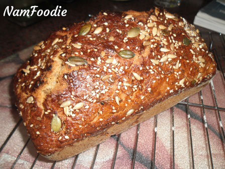 Namfoodie whole wheat seed bread