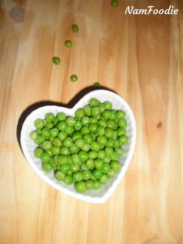 warm quinoa salad green peas