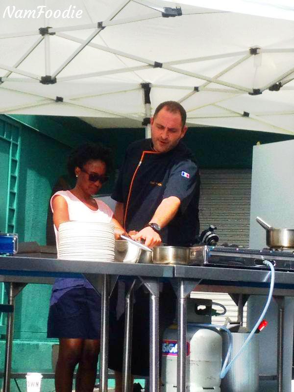 FoodWineFestival chef David Thomas