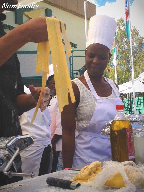 FoodWineFestival pasta making