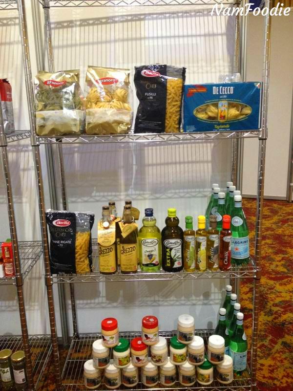 FoodWineFestival pasta oils