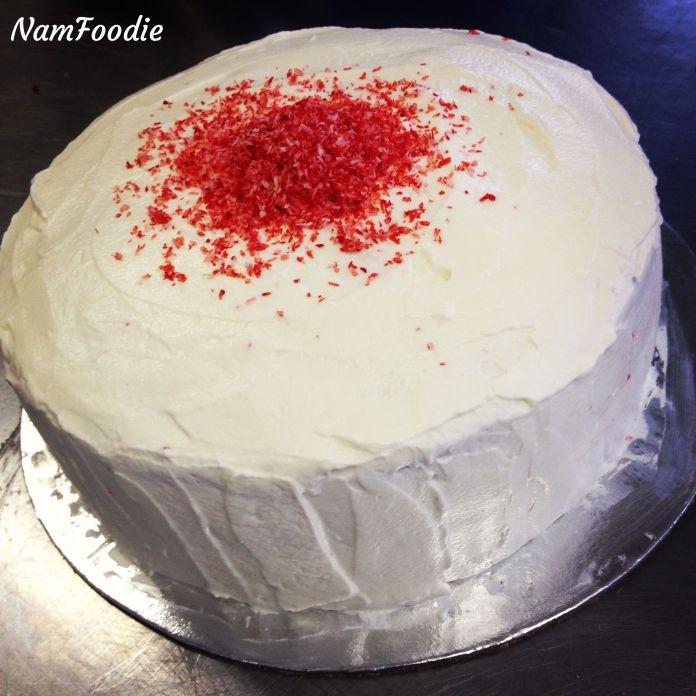 Read Velvet cake done
