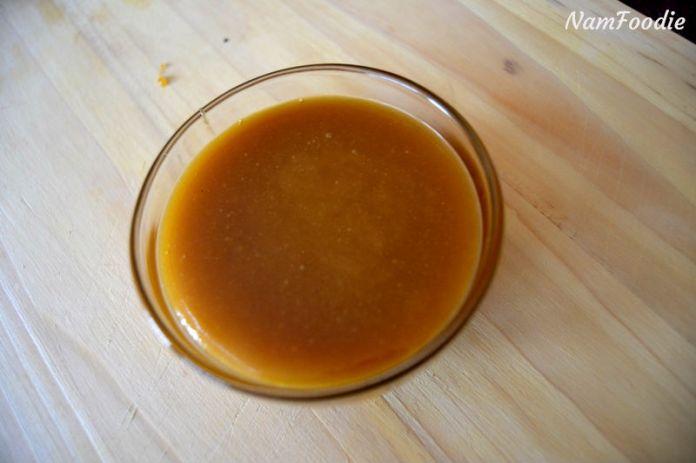 caramel syrup bowl