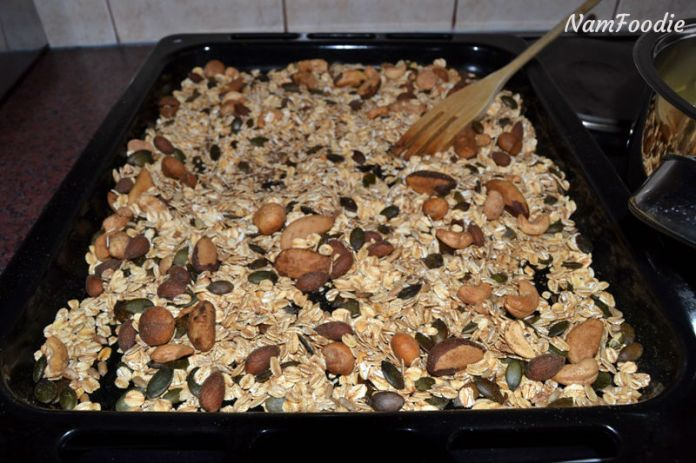 Namfoodie Homemade granola