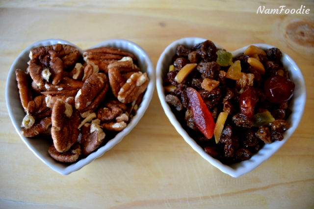 festive apple crumble pecans mix