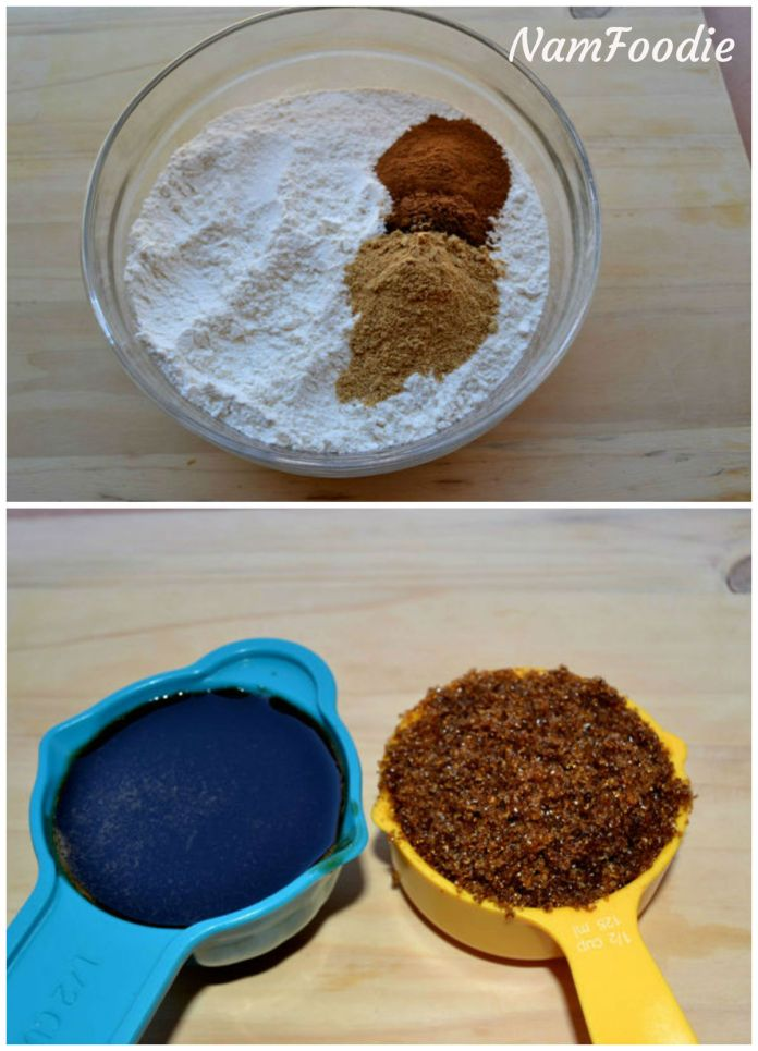 gingerbread cake ingredients