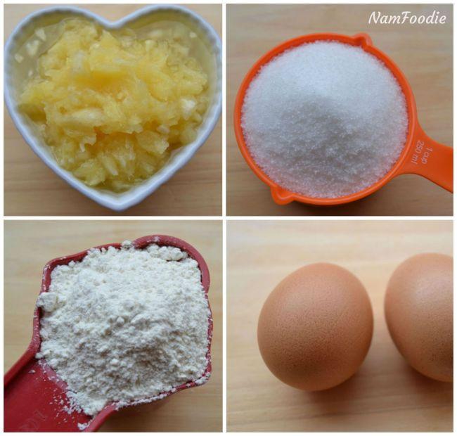 pineapple bundt cake ingredients