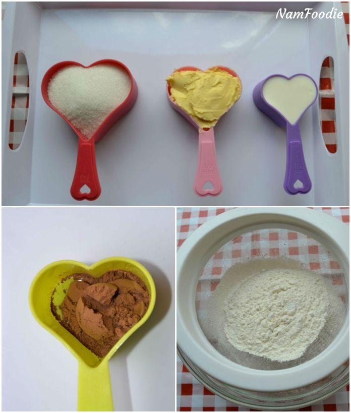 red velvet mini cakes ingredients