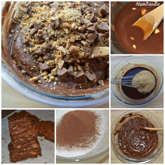 chocolate brownies steps