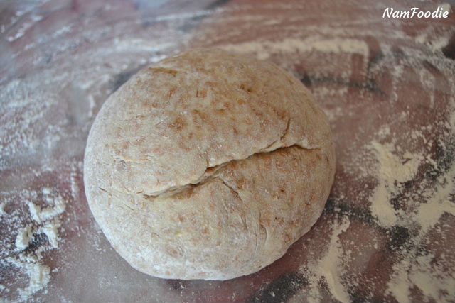 dutch oven bread ball