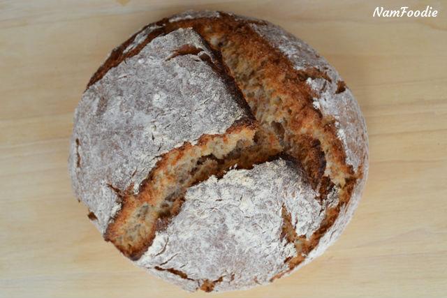 dutch oven bread done