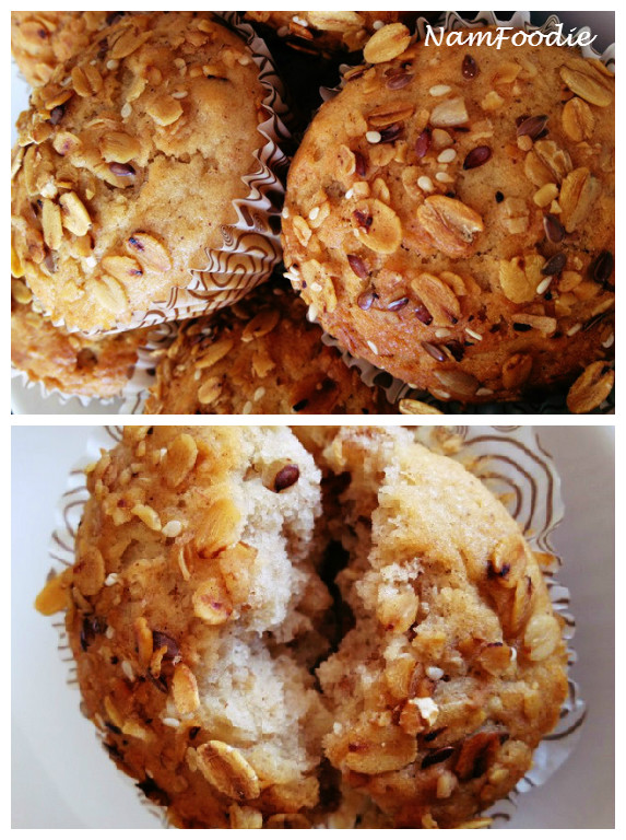 oat muffins 1