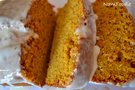 pumpkin bread icing