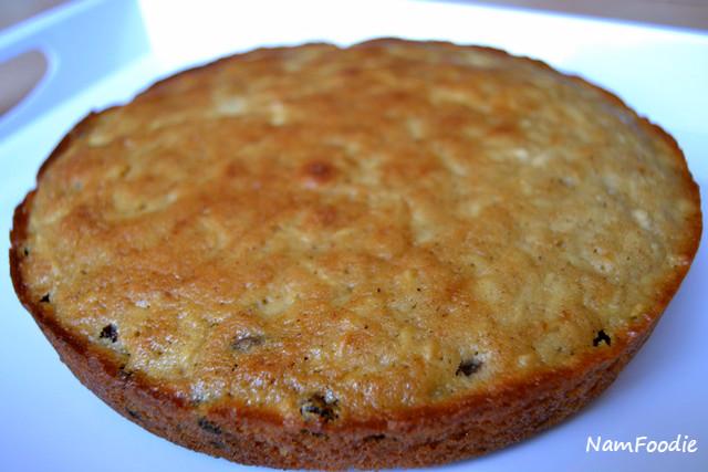 apple raisins cake