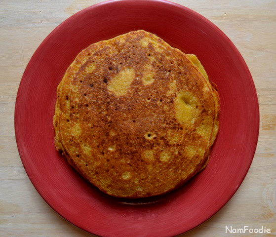 Pumpkin pancakes small