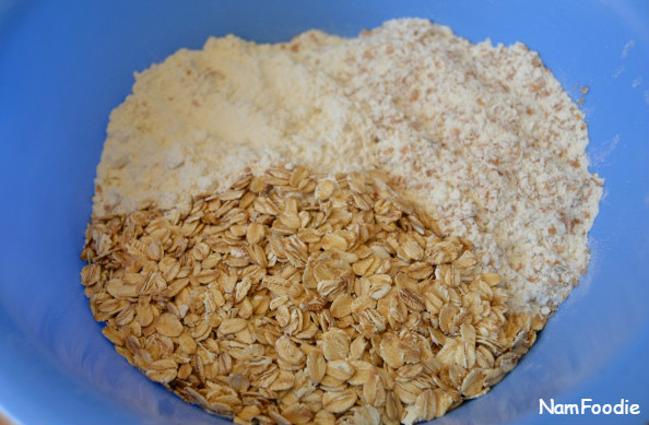 Honey oat bread ingredients