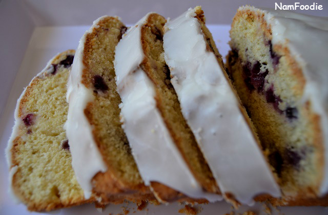 Lemon Blueberry Yogurt Cake