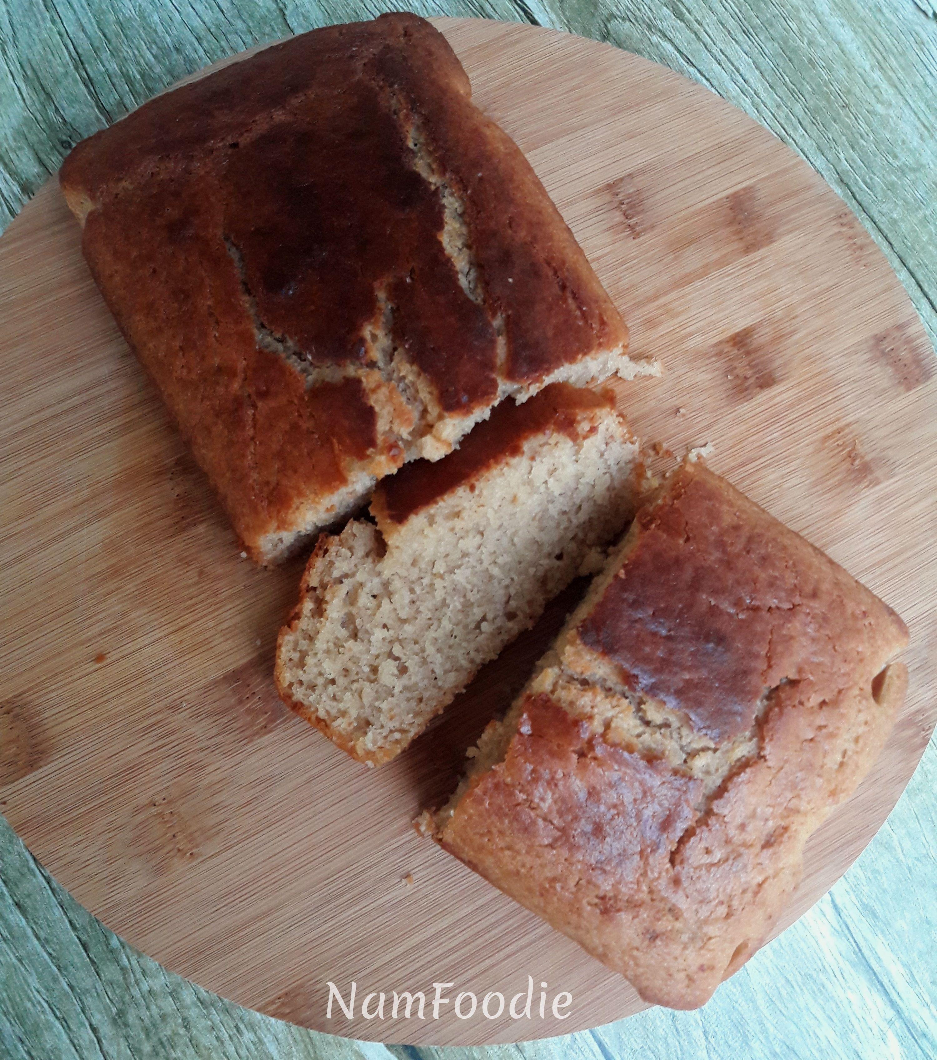 Peanut butter banna bread